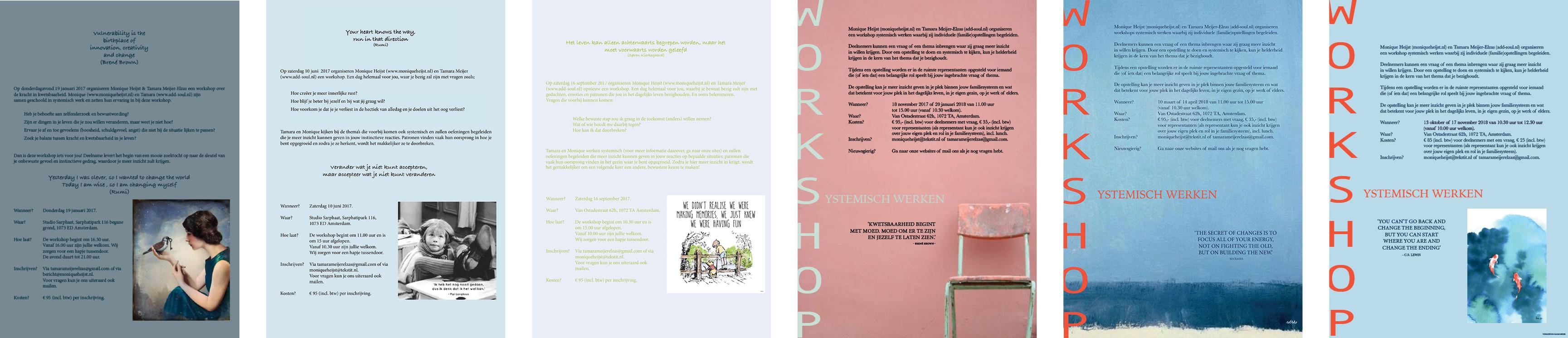 workshop monique heijst